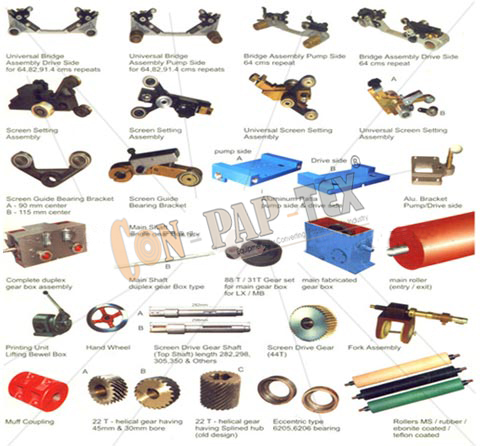 Spare Parts For Rotary Printing Machine